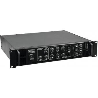 OMNITRONIC MPVZ-250.6 PA Mixing Amplifier #3