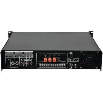 OMNITRONIC MPVZ-250.6 PA Mixing Amplifier #4