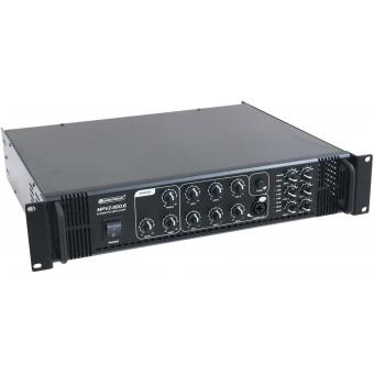 OMNITRONIC MPVZ-350.6 PA mixing Amplifier #3