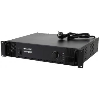 OMNITRONIC PAP-650 PA Amplifier #2