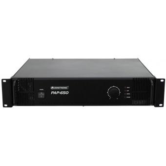 OMNITRONIC PAP-650 PA Amplifier #4
