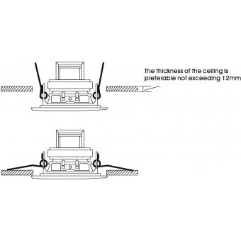 OMNITRONIC CS-2.5W Ceiling Speaker white #5