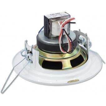 OMNITRONIC CS-4W Ceiling Speaker white #2