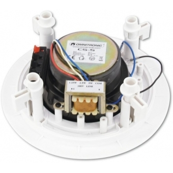 OMNITRONIC CS-5 Ceiling Speaker white #2