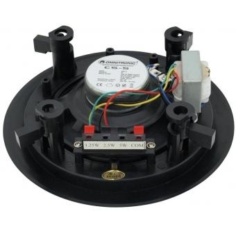 OMNITRONIC CS-5 Ceiling Speaker black #2
