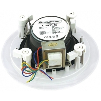 OMNITRONIC CST-5 2-Way Ceiling Speaker #2