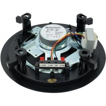 OMNITRONIC CS-6 Ceiling Speaker black #2