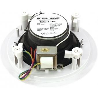 OMNITRONIC CST-6 2-Way Ceiling Speaker #2