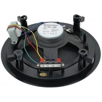 OMNITRONIC CS-8 Ceiling Speaker black #2