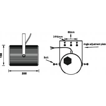 OMNITRONIC PS-25 Projector Speaker #6