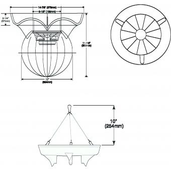 OMNITRONIC WP-10H Ceiling Speaker #7