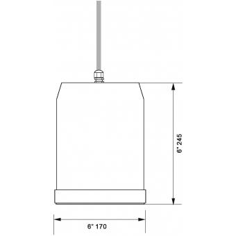 OMNITRONIC WP-15W Ceiling Speaker #4