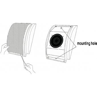OMNITRONIC WC-2 PA Wall Speaker #8