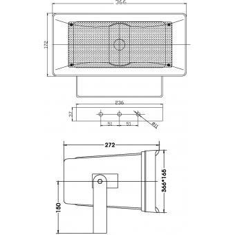 OMNITRONIC HS-50 PA Horn Speaker #5