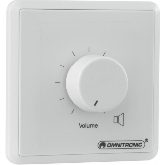OMNITRONIC PA Volume Controller, 5 W mono wh #2