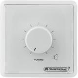 OMNITRONIC PA Volume Controller, 10 W mono wh