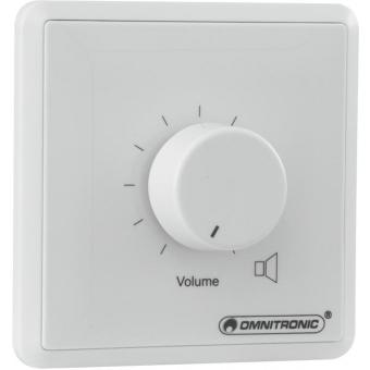 OMNITRONIC PA Volume Controller 120 W mono wh #2