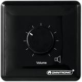 OMNITRONIC PA Volume Controller, 20 W mono bk