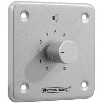 OMNITRONIC PA Volume Controller 10 W mono sil #2