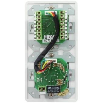 OMNITRONIC PA Volume Controller/Program Selector 5W mono wh #3