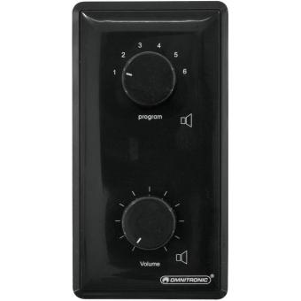 OMNITRONIC PA Vol Contr/Prog Select 45W mono bk
