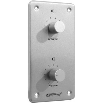 OMNITRONIC PA Vol Contr/Prog Select 10W mono bk #2