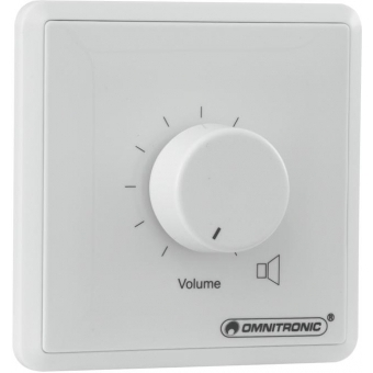 OMNITRONIC PA Volume Controller 5W stereo wh #2