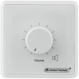 OMNITRONIC PA Volume Controller 5W stereo wh