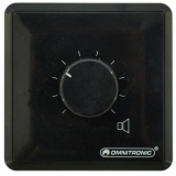 OMNITRONIC PA Volume Controller 5 W stereo bk
