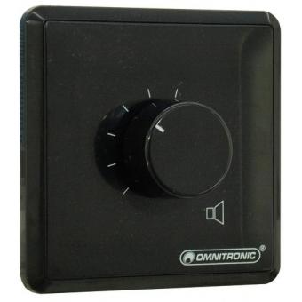 OMNITRONIC PA Volume Controller 30W stereo bk #2