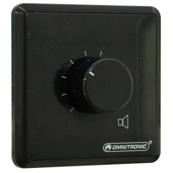 OMNITRONIC PA Volume Controller 45W stereo bk #2