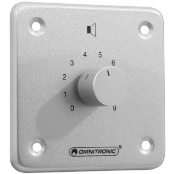 OMNITRONIC PA Volume Controller 10W stereo sil #2