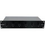 OMNITRONIC PA 6-Zone Stereo Vol-Cont45W bk