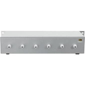 OMNITRONIC PA 6-zone stereo vol cont 5W sil #3
