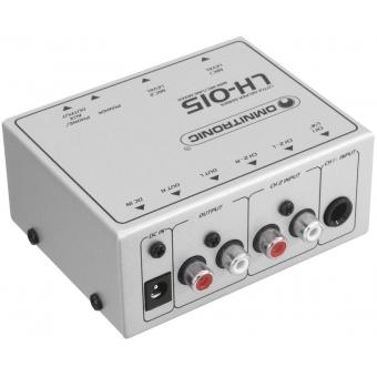 OMNITRONIC LH-015 2-Channel Mic/Line Mixer #2
