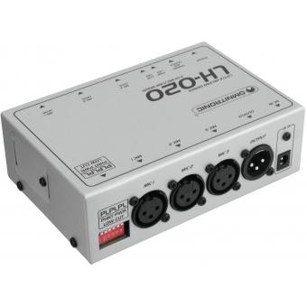 OMNITRONIC LH-020 3-Channel Mic Mixer #2
