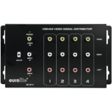 EUROLITE VSD-104 Video distributor 1in4