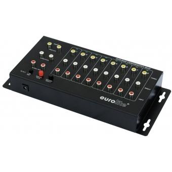 EUROLITE AVS-802 Video switch 8in2 #2
