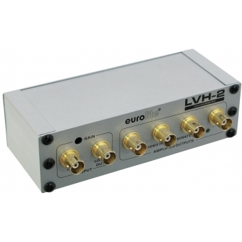 EUROLITE LVH-2 Video distribution amp #2