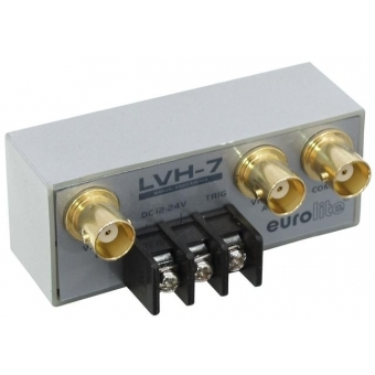 EUROLITE LVH-7 Manual video switch