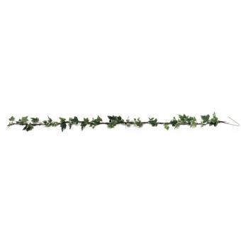 EUROPALMS Ivy garland, green-white, 350cm