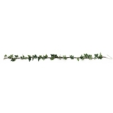 EUROPALMS Ivy garland, green-white, 350cm