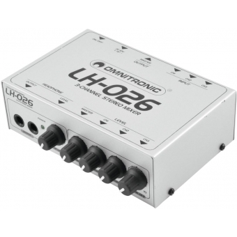 OMNITRONIC LH-026 3-Channel Stereo Mixer #2