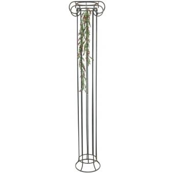 EUROPALMS Grass tendril, green-red 105cm