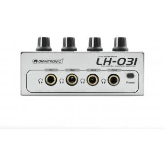 OMNITRONIC LH-031 Headphone Amplifier #7