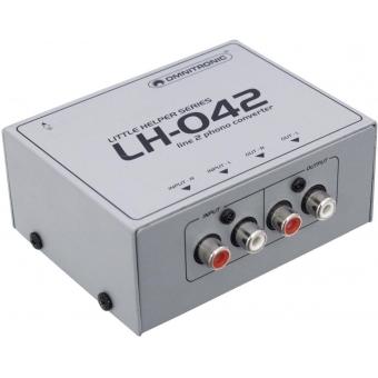 OMNITRONIC LH-042 Line/Phono Converter