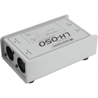 OMNITRONIC LH-050 Phantom Power Adapter #2
