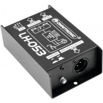 OMNITRONIC LH-053 Passive DI Box