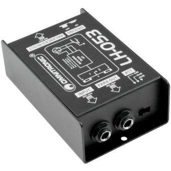 OMNITRONIC LH-053 Passive DI Box #2