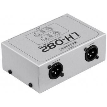 OMNITRONIC LH-082 Stereo Isolator XLR #2